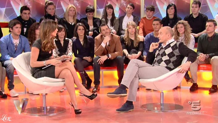 Silvia Toffanin dans Verissimo. Diffusé à la télévision le 19/02/11.
