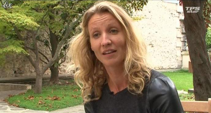 Alexandra Lamy dans la Quotidienne Du Cinema. Diffusé à la télévision le 08/10/10.