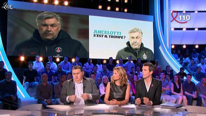 Astrid Bard dans Canal Football Club. Diffusé à la télévision le 01/04/12.