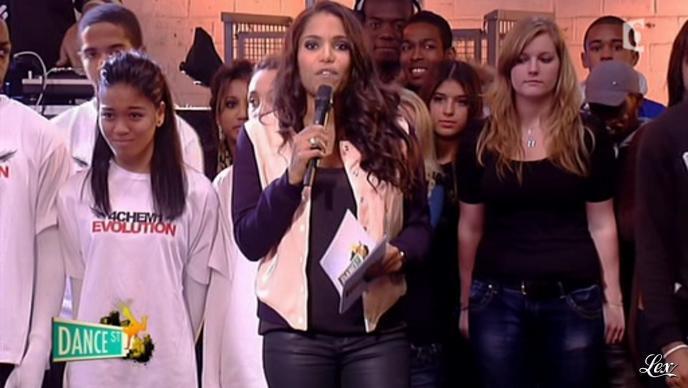 Audrey Chauveau dans Dance Street. Diffusé à la télévision le 07/03/12.