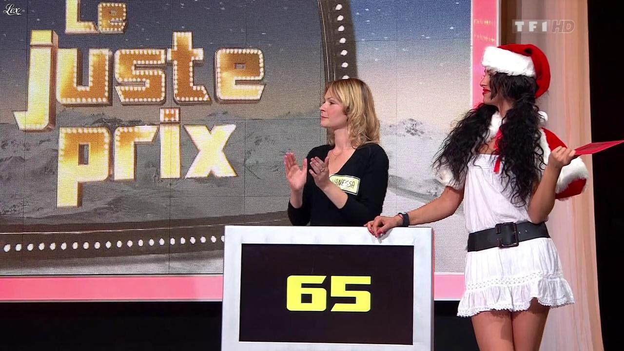 Fanny Veyrac dans le Juste Prix. Diffusé à la télévision le 20/12/11.