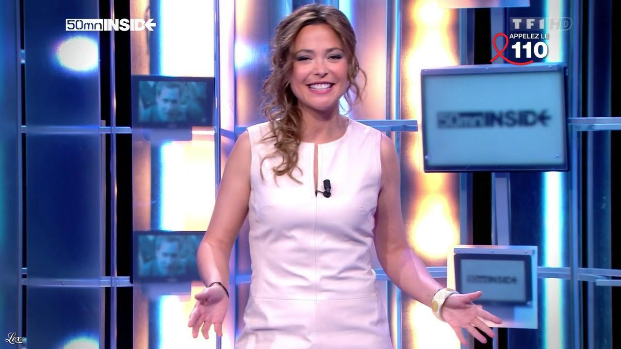 Sandrine Quétier dans 50 Minutes Inside. Diffusé à la télévision le 31/03/12.