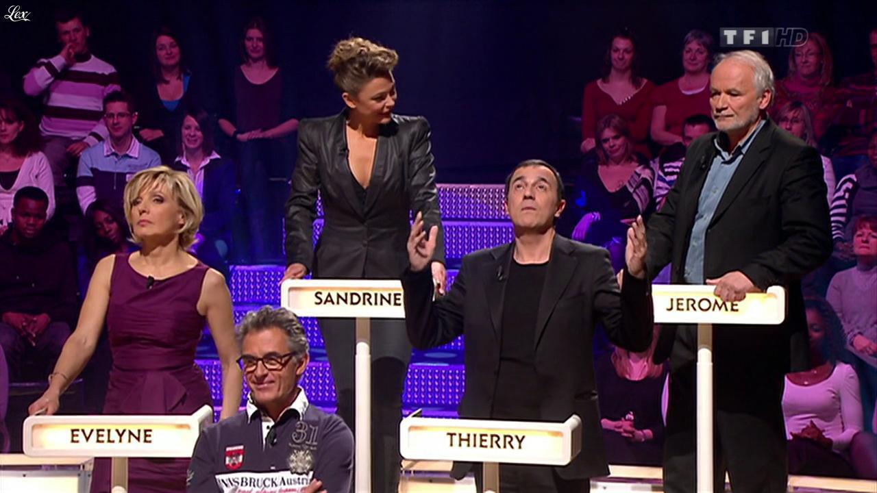 Sandrine Quétier dans le Grand Concours des Animateurs. Diffusé à la télévision le 24/02/12.
