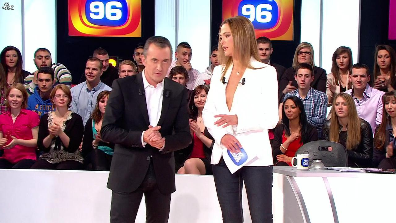Sandrine Quétier dans les 100 Plus Grands. Diffusé à la télévision le 10/02/12.