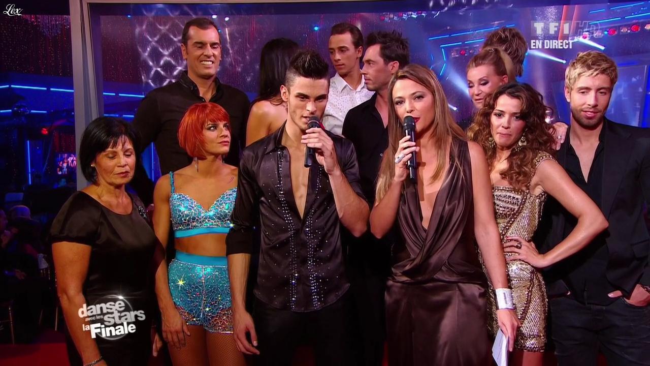 Sandrine Quétier et Nâdiya dans Danse Avec les Stars. Diffusé à la télévision le 19/11/11.
