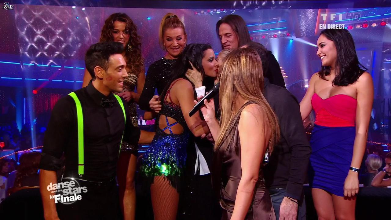 Sandrine Quétier, Shy'm et Valérie Bègue dans Danse Avec les Stars. Diffusé à la télévision le 19/11/11.