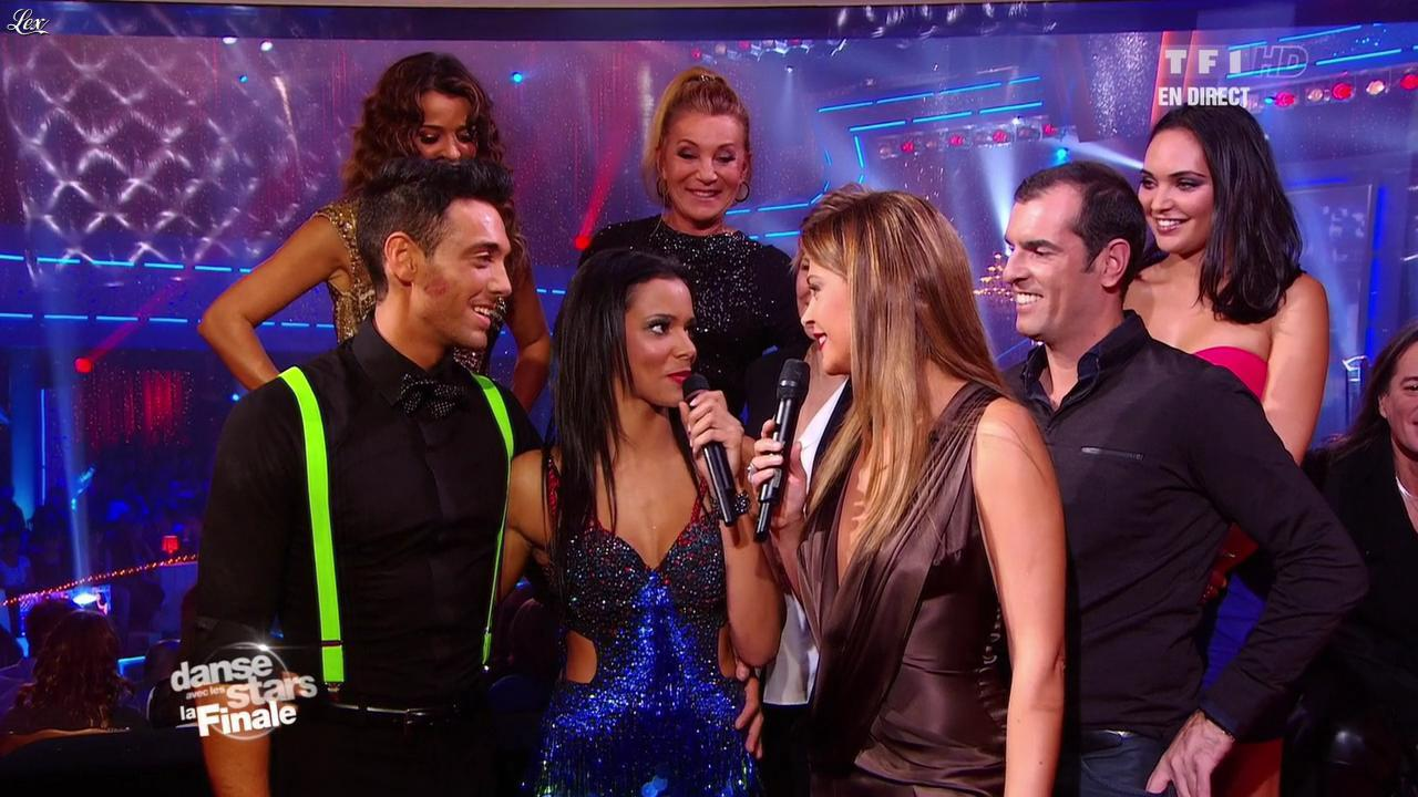 Sandrine Quétier, Shy'm, Valérie Bègue et Nâdiya dans Danse Avec les Stars. Diffusé à la télévision le 19/11/11.