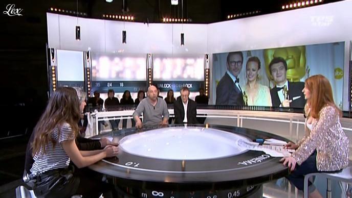 Valérie Amarou et Audrey Diwan dans la Quotidienne Du Cinema. Diffusé à la télévision le 27/02/12.