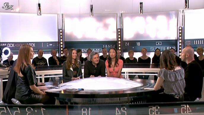 Valérie Amarou et Audrey Diwan dans la Quotidienne Du Cinema. Diffusé à la télévision le 29/03/12.