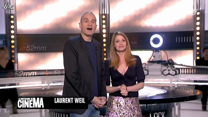 Valérie Amarou dans la Quotidienne Du Cinema. Diffusé à la télévision le 05/03/12.