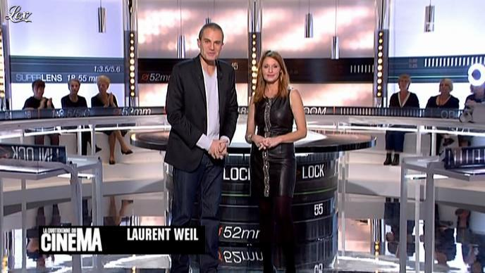 Valérie Amarou dans la Quotidienne Du Cinema. Diffusé à la télévision le 08/10/10.