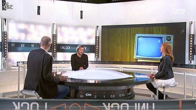 Valérie Amarou dans la Quotidienne Du Cinema. Diffusé à la télévision le 09/04/12.