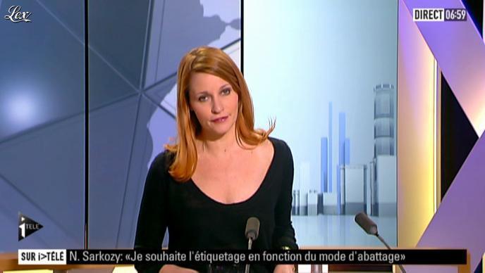 Valérie Amarou sur i-Télé. Diffusé à la télévision le 04/03/12.