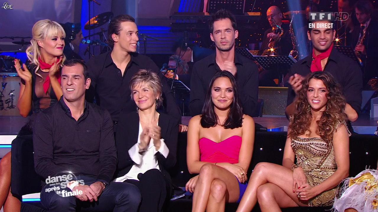 Valérie Bègue et Nâdiya dans Danse Avec les Stars. Diffusé à la télévision le 19/11/11.