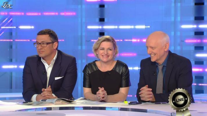 Anne-Elisabeth Lemoine dans la Nouvelle Edition. Diffusé à la télévision le 22/03/13.