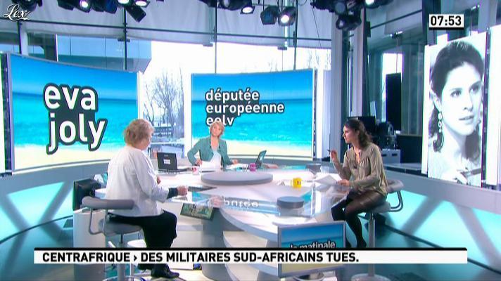 Apolline De Malherbe dans la Matinale. Diffusé à la télévision le 25/03/13.