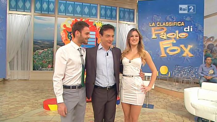 Arianna Rendina dans Mezzogiorno in Famiglia. Diffusé à la télévision le 04/11/12.
