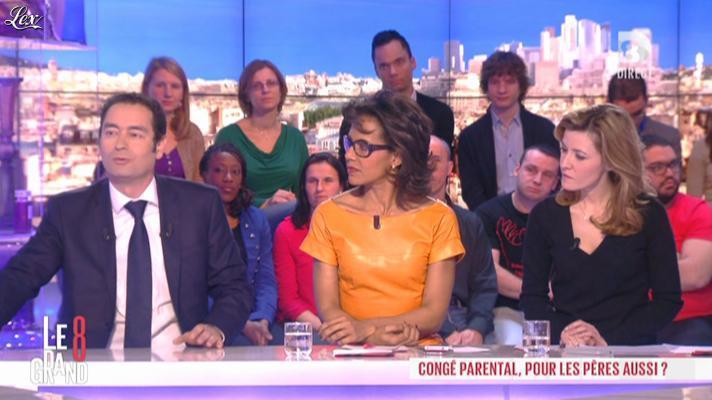 Audrey Pulvar dans le Grand 8. Diffusé à la télévision le 14/03/13.