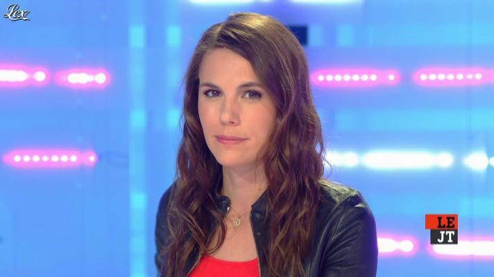 Emilie Besse dans la Nouvelle Edition. Diffusé à la télévision le 04/04/13.