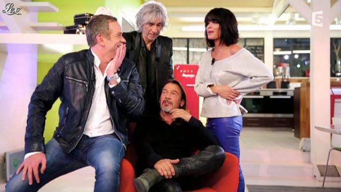 Jenifer Bartoli dans C à Vous. Diffusé à la télévision le 12/04/13.