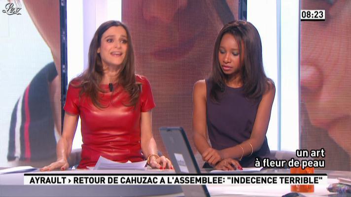 Marie Audran dans la Matinale. Diffusé à la télévision le 12/04/13.