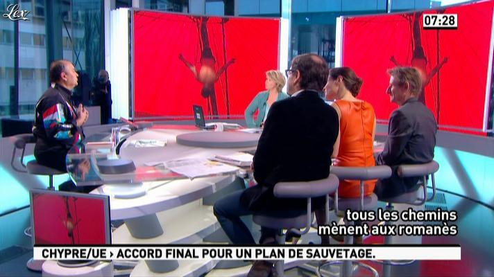 Marie Audran dans la Matinale. Diffusé à la télévision le 25/03/13.