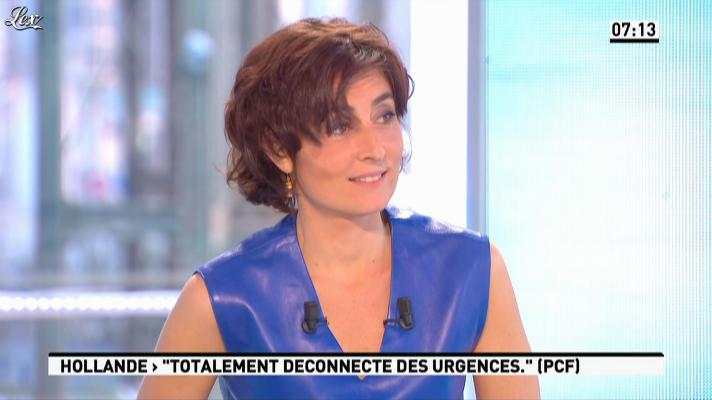 Nathalie Iannetta dans la Matinale. Diffusé à la télévision le 29/03/13.
