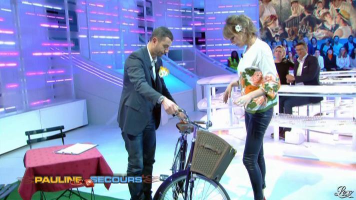 Pauline Lefèvre dans la Nouvelle Edition. Diffusé à la télévision le 22/03/13.