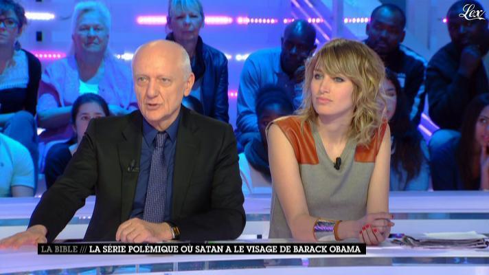 Pauline Lefèvre dans la Nouvelle Edition. Diffusé à la télévision le 26/03/13.