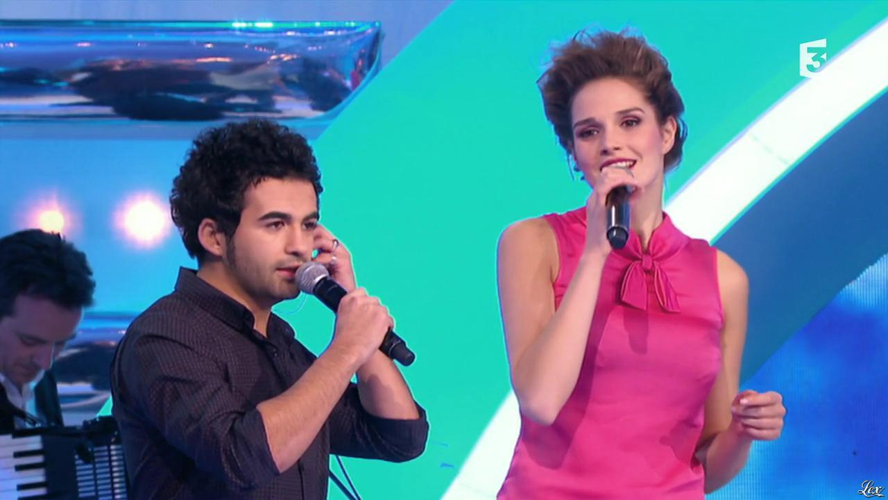 Camille Lou dans les Chansons d'Abord. Diffusé à la télévision le 22/01/14.