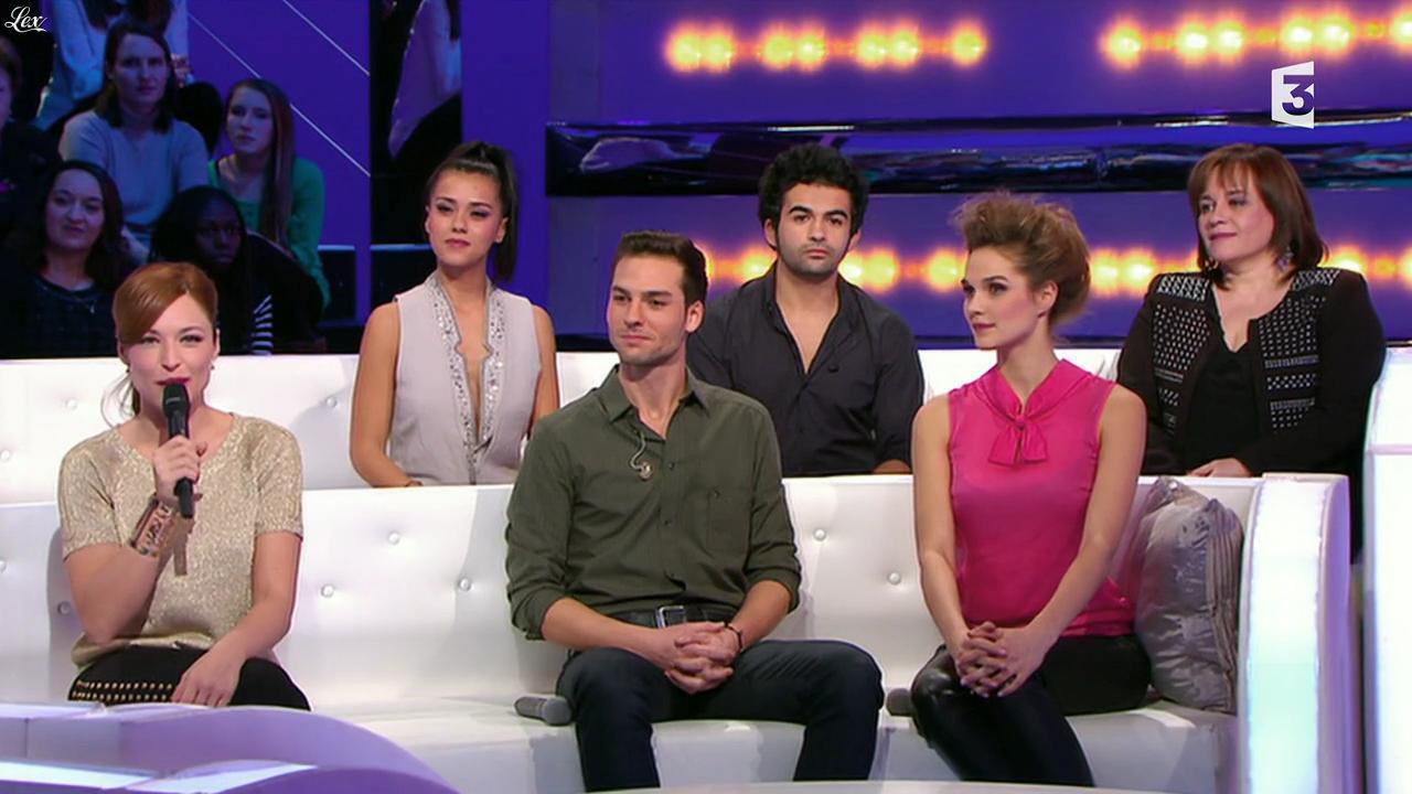 Camille Lou et Sonia Lacen dans les Chansons d'Abord. Diffusé à la télévision le 22/01/14.