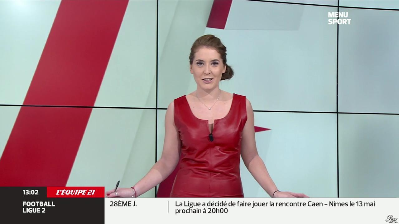 Elodie Poyade dans Menu Sport. Diffusé à la télévision le 05/05/14.