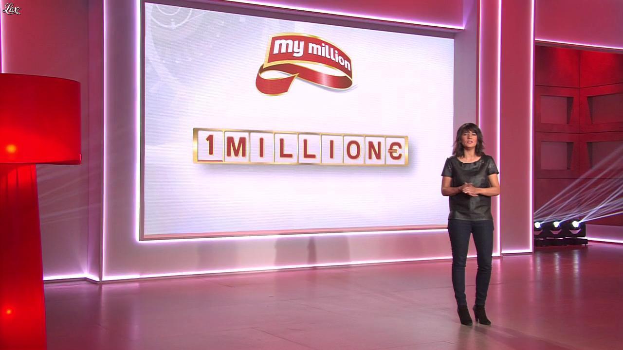 Estelle Denis dans My Million. Diffusé à la télévision le 13/05/14.