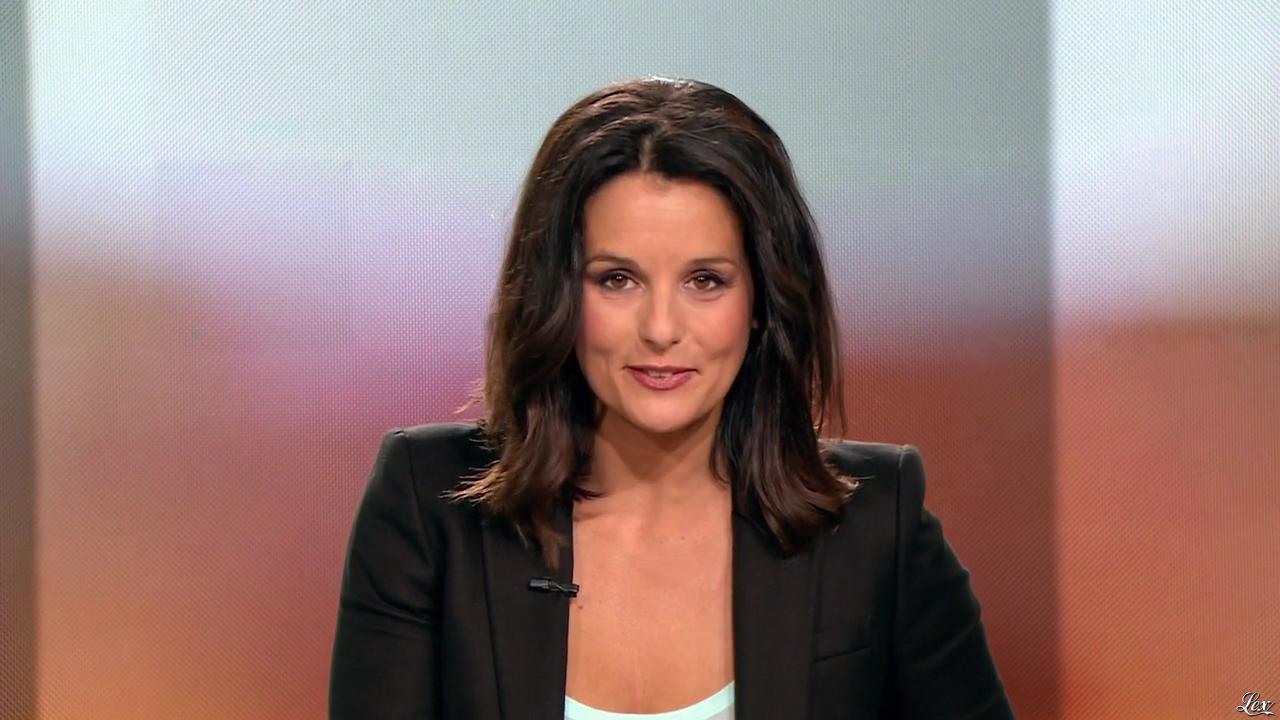 Faustine Bollaert dans 100 Mag. Diffusé à la télévision le 22/04/14.