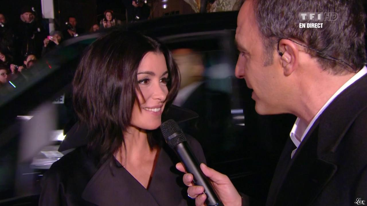 Jenifer Bartoli dans NRJ Music Awards. Diffusé à la télévision le 26/01/13.