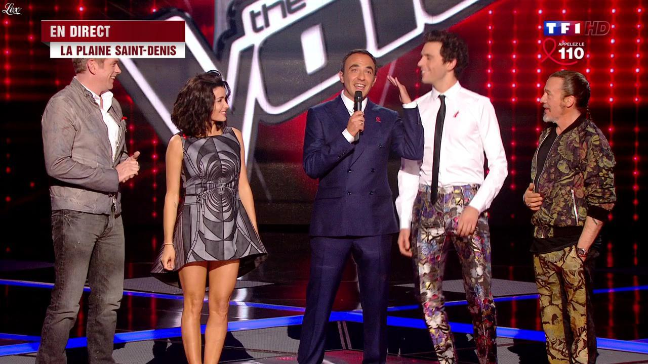 Jenifer Bartoli dans The Voice. Diffusé à la télévision le 05/04/14.