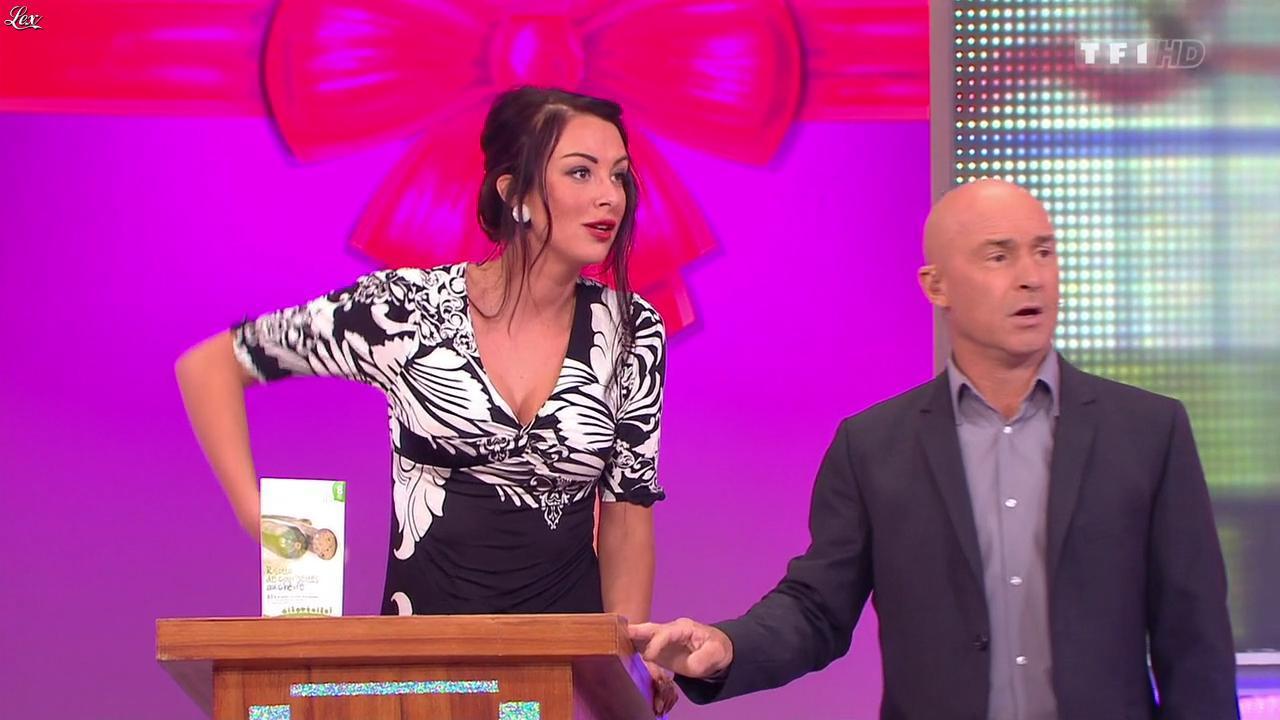 Fanny Veyrac dans le Juste Prix. Diffusé à la télévision le 17/12/13.