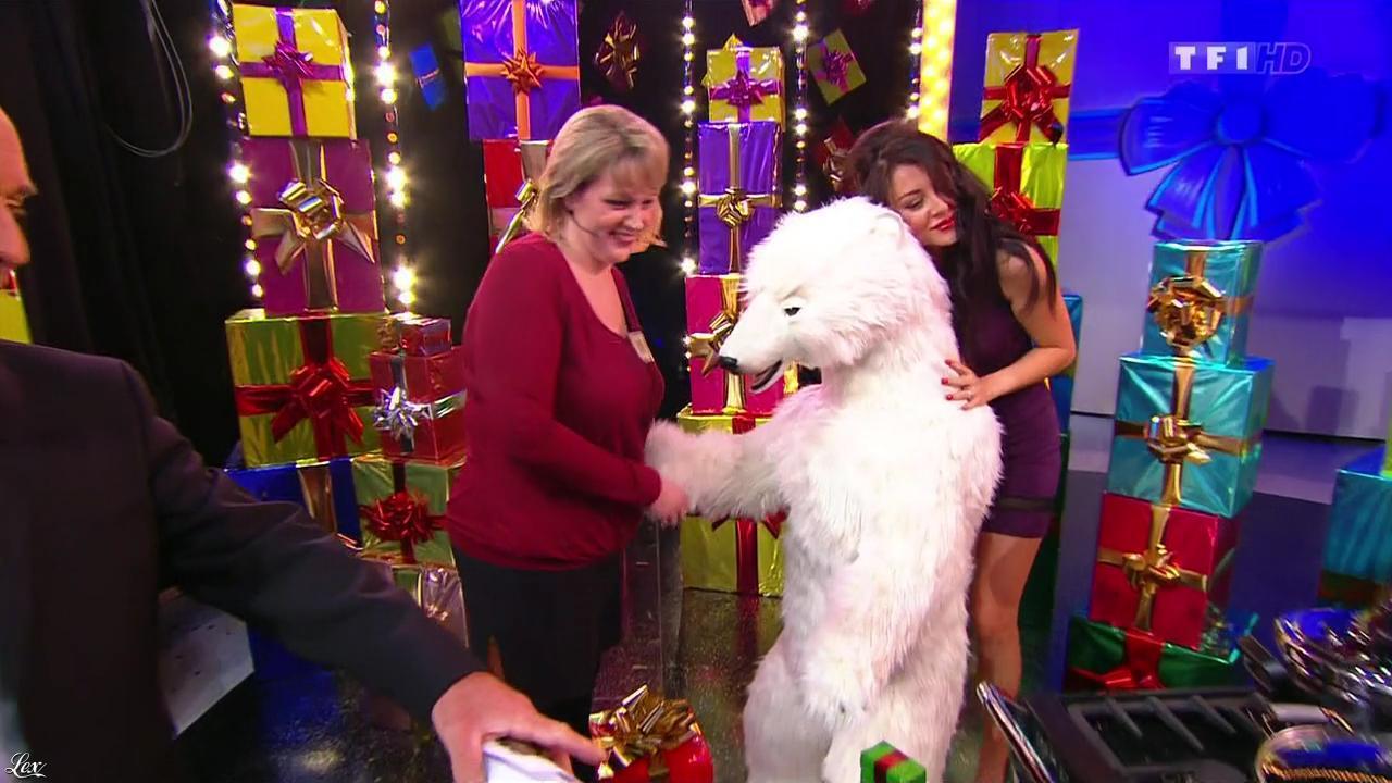 Fanny Veyrac dans le Juste Prix. Diffusé à la télévision le 20/12/13.