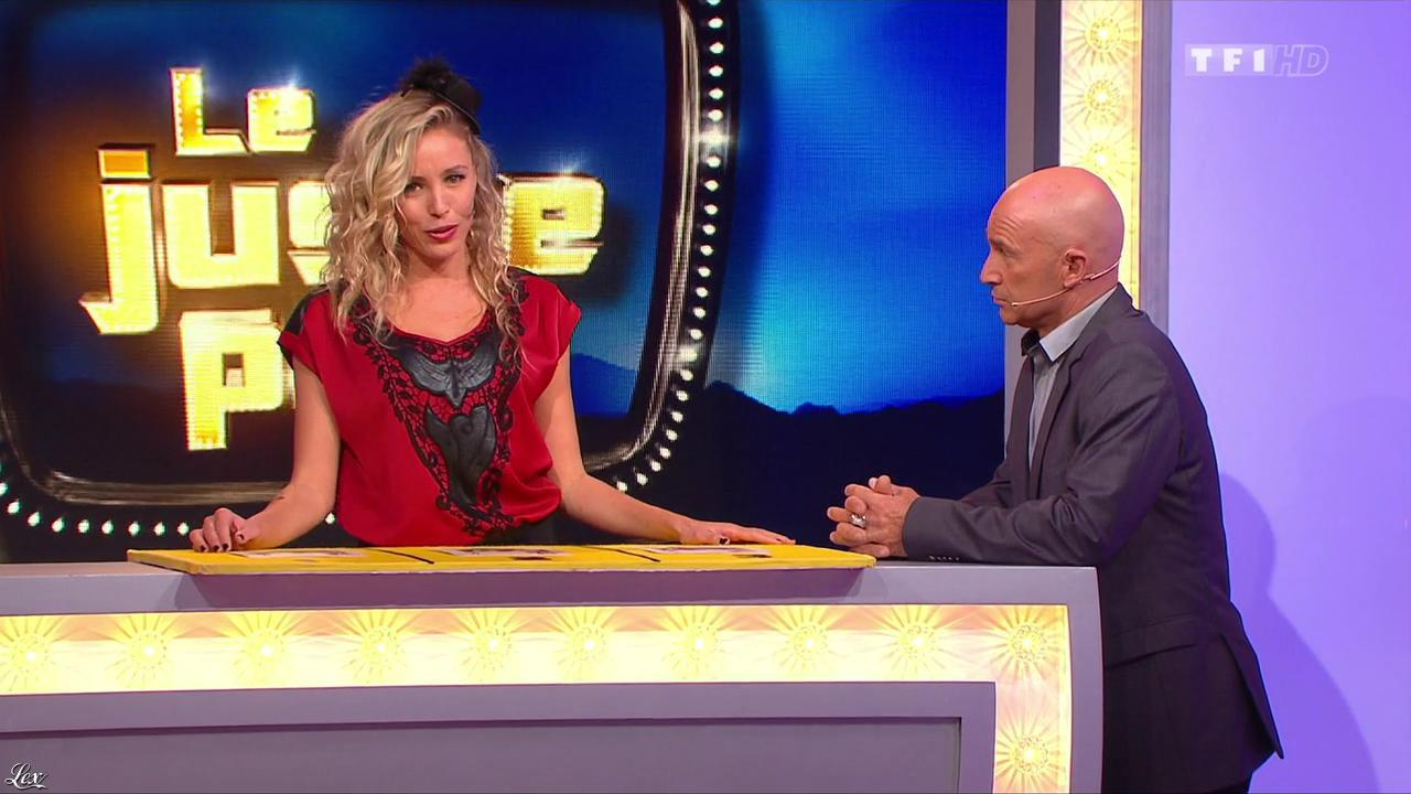Nadia Aydanne dans le Juste Prix. Diffusé à la télévision le 15/11/13.