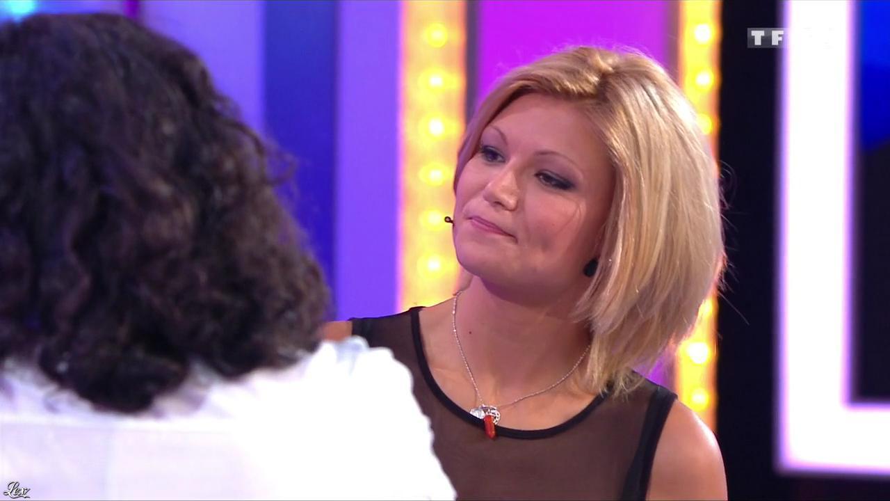 Sandra dans le Juste Prix. Diffusé à la télévision le 15/11/13.