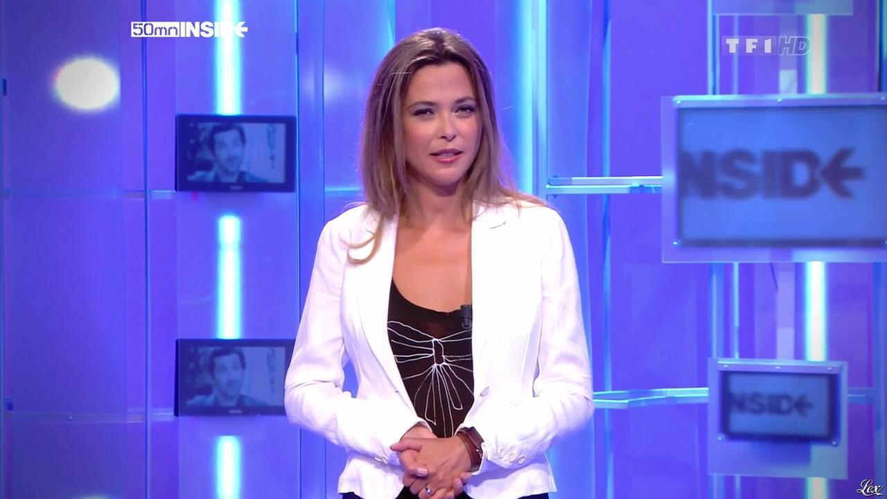 Sandrine Quétier dans 50 Minutes Inside. Diffusé à la télévision le 11/09/10.