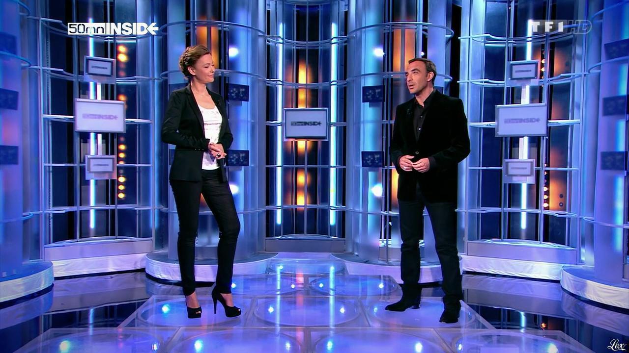 Sandrine Quétier dans 50 Minutes Inside. Diffusé à la télévision le 22/03/14.