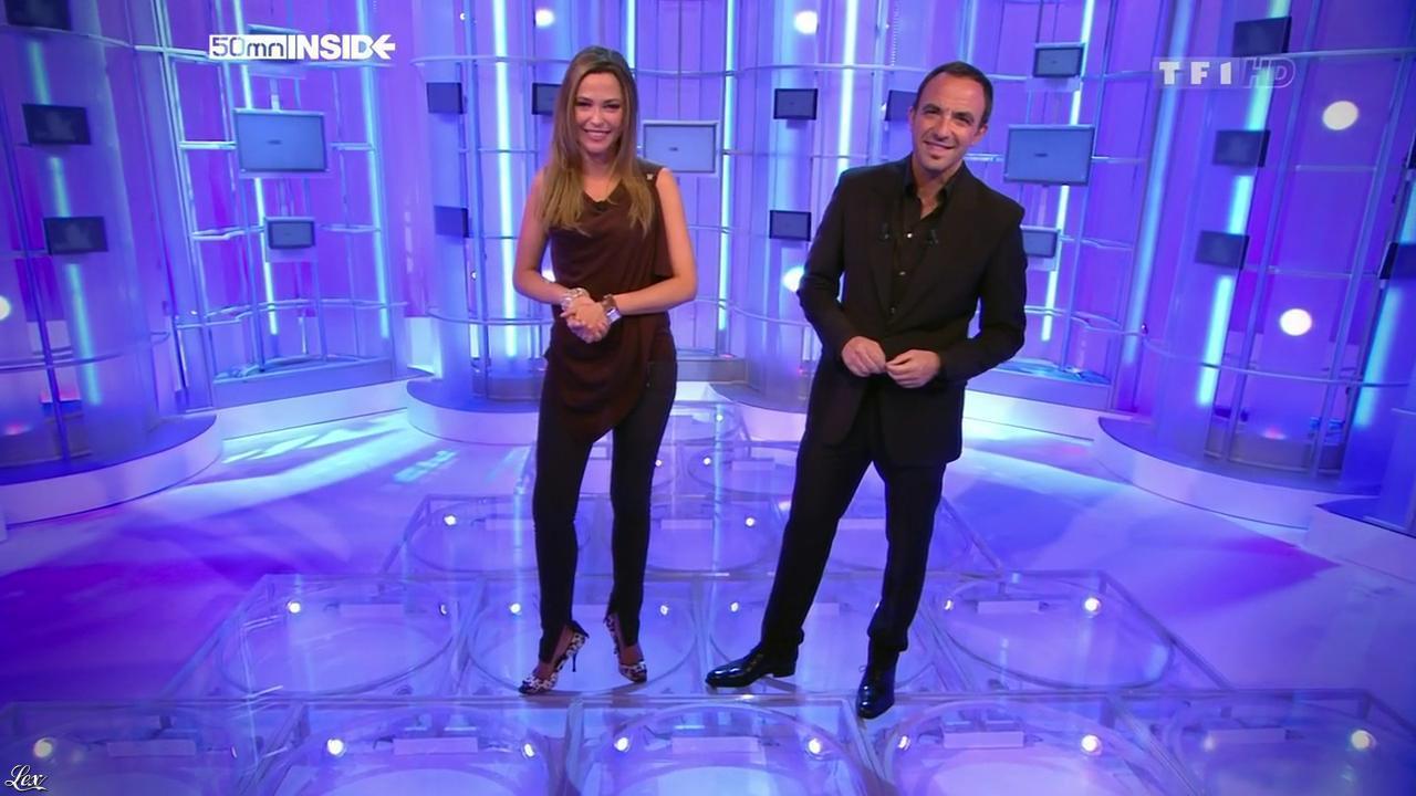 Sandrine Quétier dans 50 Minutes Inside. Diffusé à la télévision le 23/10/10.