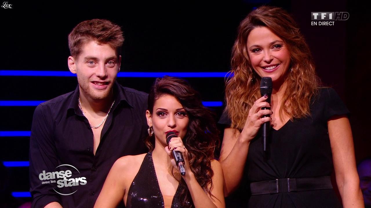 Sandrine Quétier dans Danse avec les Stars. Diffusé à la télévision le 02/11/13.