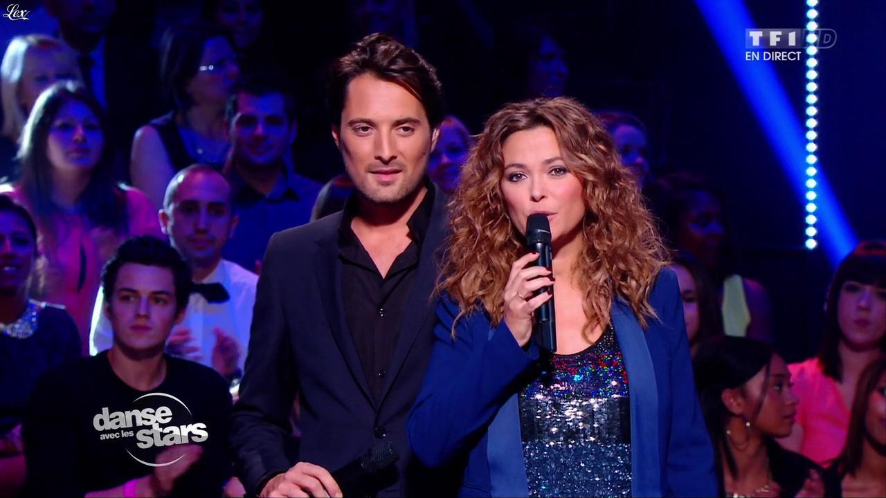 Sandrine Quétier dans Danse avec les Stars. Diffusé à la télévision le 26/10/13.