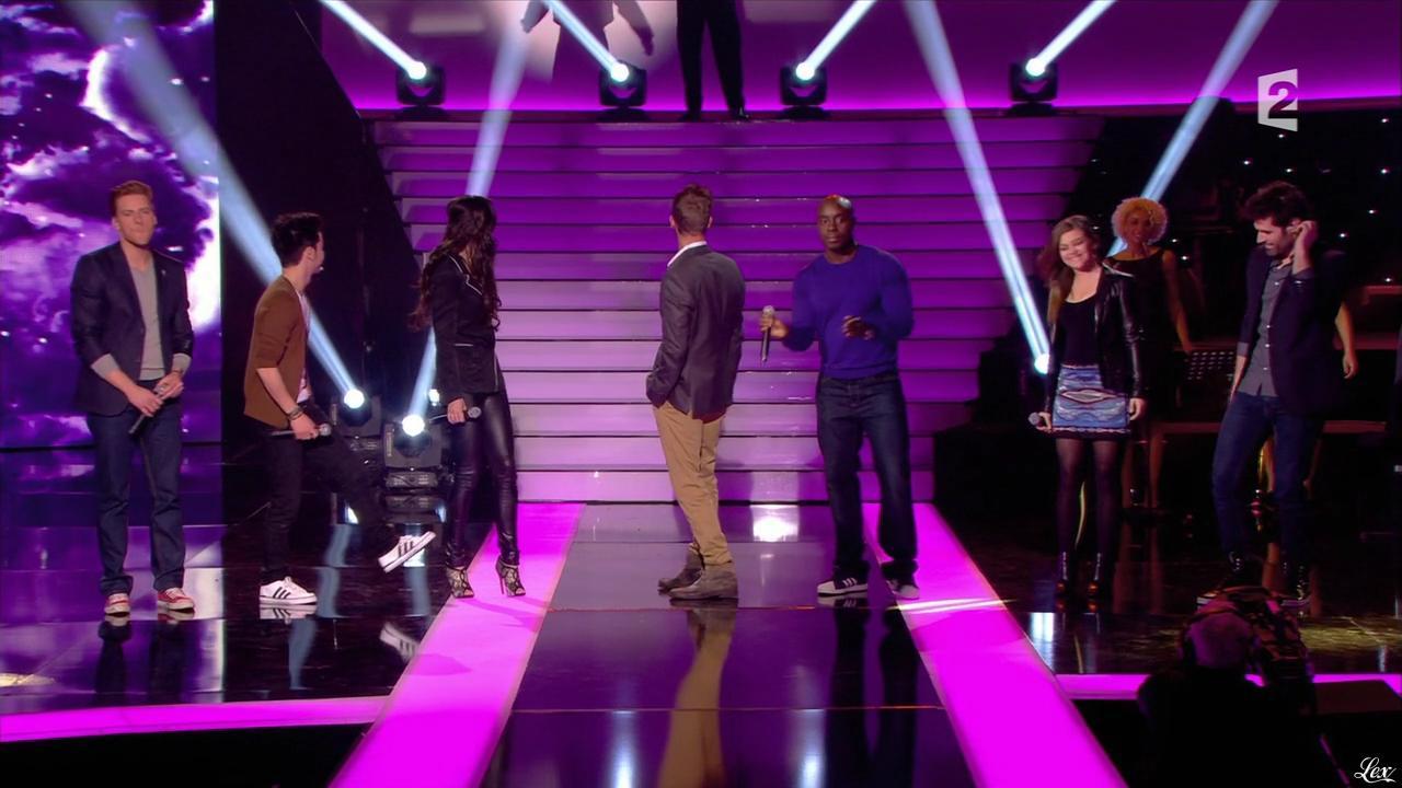 Stéphanie Bedard dans Simplement Pour un Soir. Diffusé à la télévision le 30/03/13.