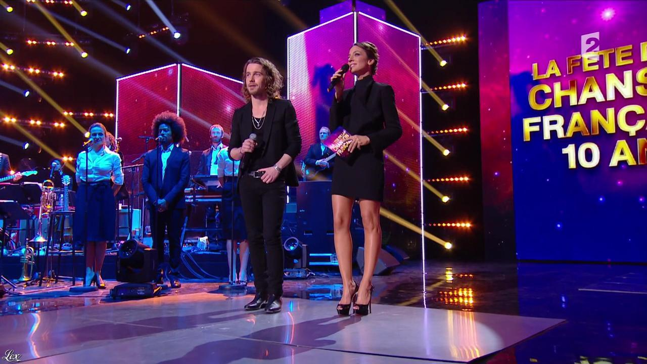 Virginie Guilhaume dans la Fête de la Chanson Francaise. Diffusé à la télévision le 29/11/13.