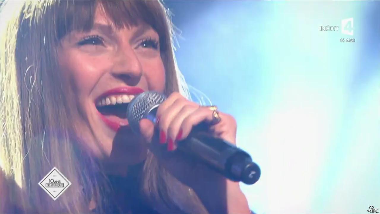 Brigitte dans les 10 Ans de France 4. Diffusé à la télévision le 31/03/15.