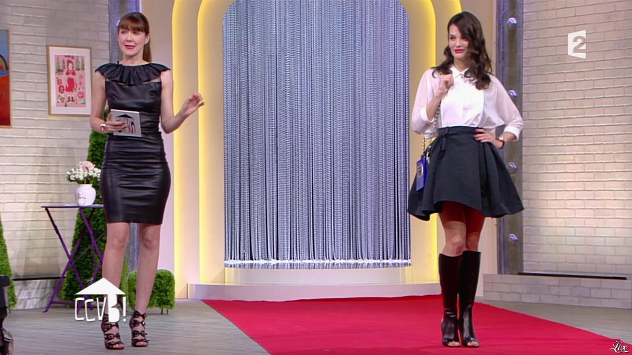 Caroline Baly dans Comment Ça Va Bien. Diffusé à la télévision le 31/03/15.