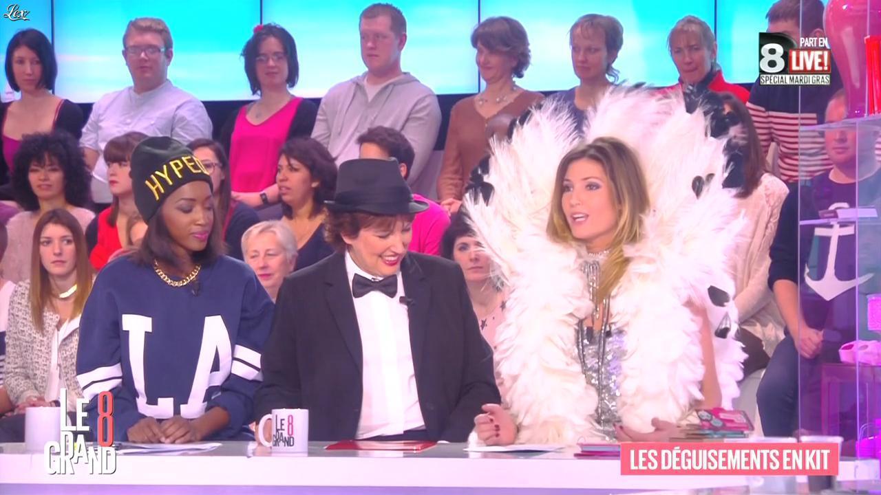 Caroline Ithurbide dans le Grand 8. Diffusé à la télévision le 17/02/15.